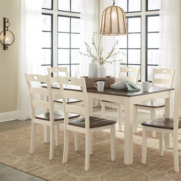 Modern Furniture & Mattresses White Dining Table