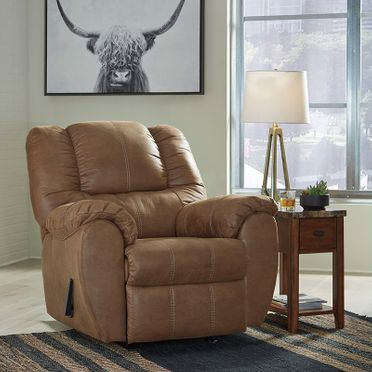 Modern Furniture & Mattresses Tan Recliner
